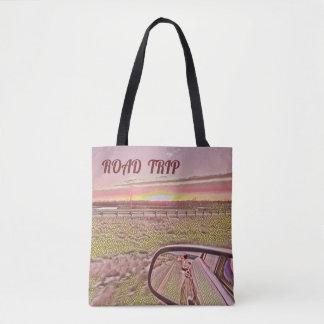 Tote Bag Paysage artistique de lever de soleil d'horizon de