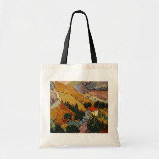 Tote Bag Paysage de Vincent van Gogh | avec la Chambre et