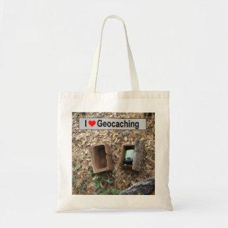 Tote Bag Peau de boîte en bois : Geocaching