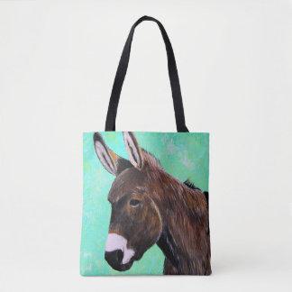 Tote Bag Peinture d'âne