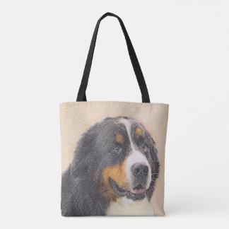 Tote Bag Peinture du chien de montagne de Bernese 2 - art