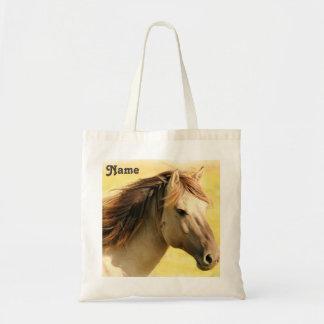Tote Bag Peinture personnalisée de cheval