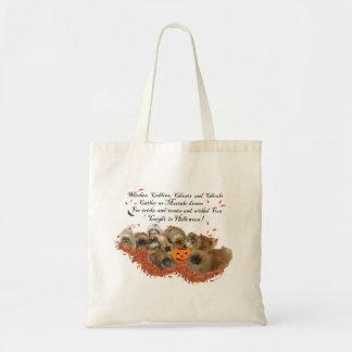 Tote Bag Pekingese Halloween