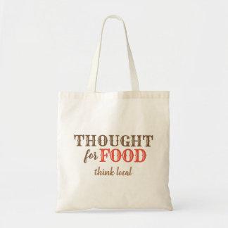 Tote Bag Pensé pour la nourriture Fourre-tout