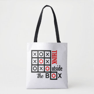 Tote Bag pensez en dehors du clev futé supplémentaire