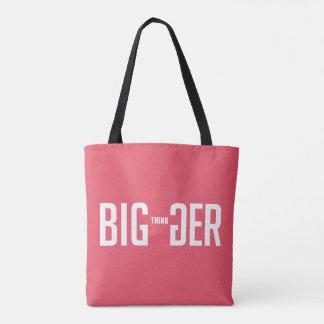 Tote Bag Pensez plus grand