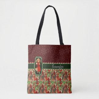 Tote Bag Père Noël et Bonnes Fêtes d'enfants