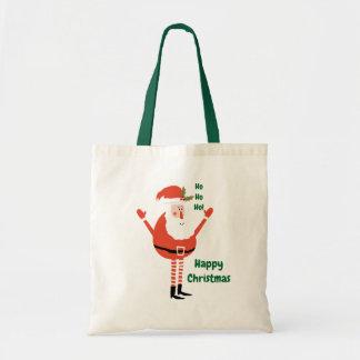 Tote Bag Père Noël moderne mignon vous souhaite Noël