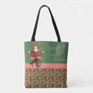 Tote Bag Père Noël vilain ou Nice