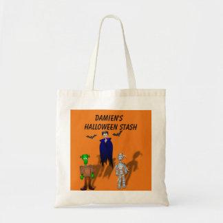 Tote Bag Personnalisez la cachette Fourre-tout de Halloween