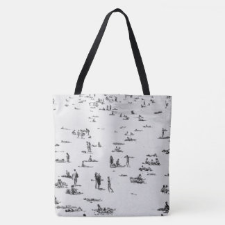 Tote Bag Personnes de plage