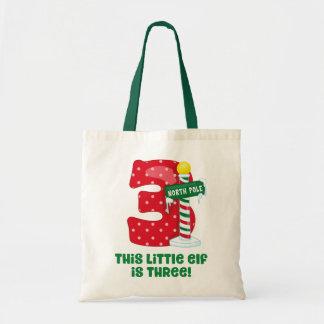 Tote Bag Petit 3ème anniversaire d'Elf
