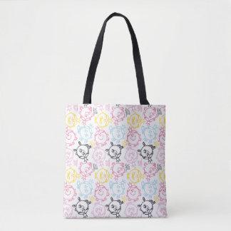 Tote Bag Petit joli motif de pastels de Mlle le princesse |