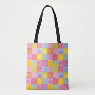 Tote Bag Petit motif assez en pastel de Mlle le princesse |