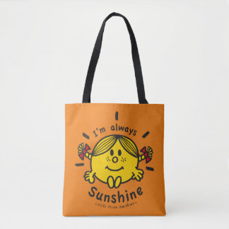 Tote Bag Petite Mlle Sunshine | je suis toujours soleil