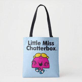 Tote Bag Petite petite Mlle Chatterbox de la Mlle | est si
