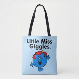 Tote Bag Petite petite Mlle Giggles Likes To Laugh de la