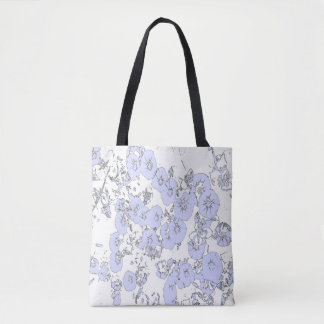 Tote Bag Pétunias bleus