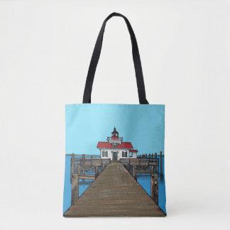 Tote Bag Phare de marais de Roanoke