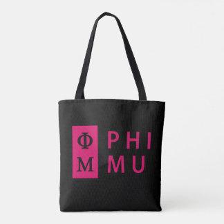 Tote Bag Phi MU empilé