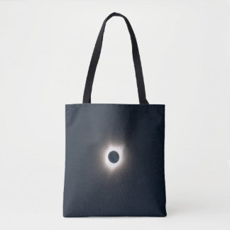 Tote Bag Photo de l'éclipse 2017. de totalité