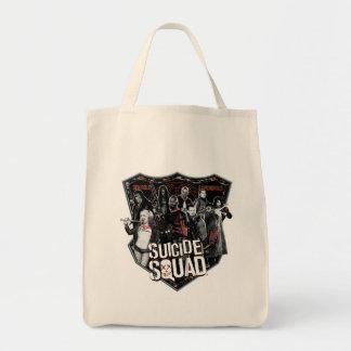 Tote Bag Photo d'insigne de groupe du peloton | de suicide