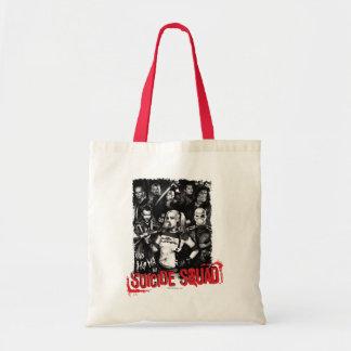 Tote Bag Photo grunge de groupe du peloton | de suicide
