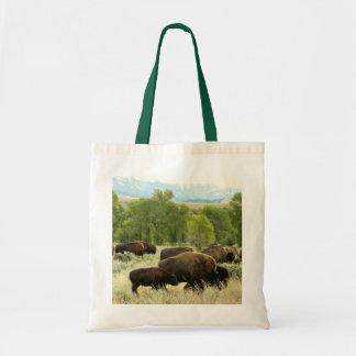 Tote Bag Photographie d'animal de nature de bison du