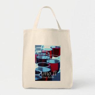 Tote Bag Photographie de vin rouge