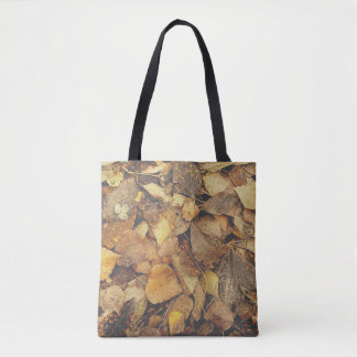 Tote Bag Pile de feuille d'automne