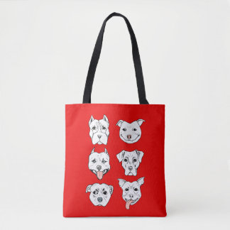 Tote Bag Pittie Pittie svp !