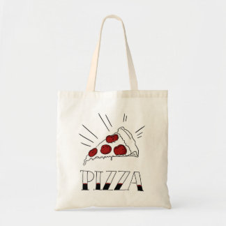 Tote Bag Pizza de pepperoni