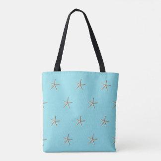 Tote Bag Plage élégante d'étoiles de mer