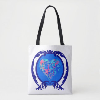Tote Bag Plaisir bleu Fourre-tout deux