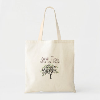 Tote Bag Planète d'arbre