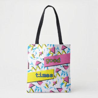 Tote Bag Plein motif Fourre-tout de bon de périodes motif