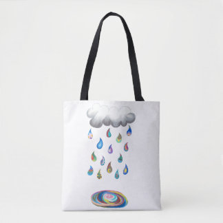 Tote Bag Pluie fantaisie Fourre-tout