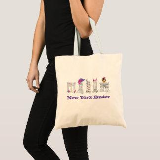 Tote Bag Points de repère de l'avenue NYC de défilé de New