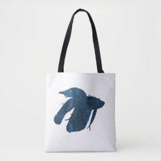 Tote Bag Poissons de combat siamois - splendens de betta