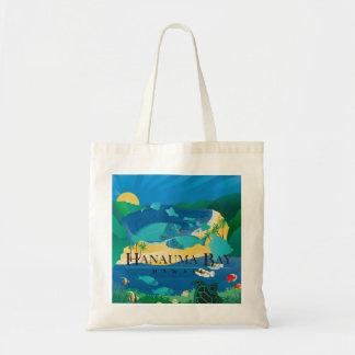 Tote Bag Poissons de perroquet d'Hawaï de baie de Hanauma