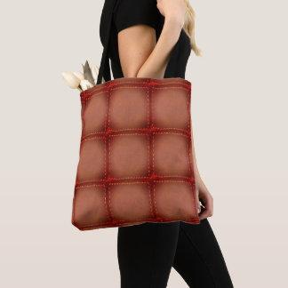 Tote Bag Polyester balayé solide simili cuir