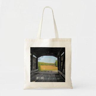 Tote Bag Pont couvert de l'Indiana
