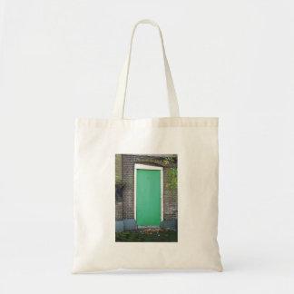 Tote Bag Porte verte tordue de photographie néerlandaise