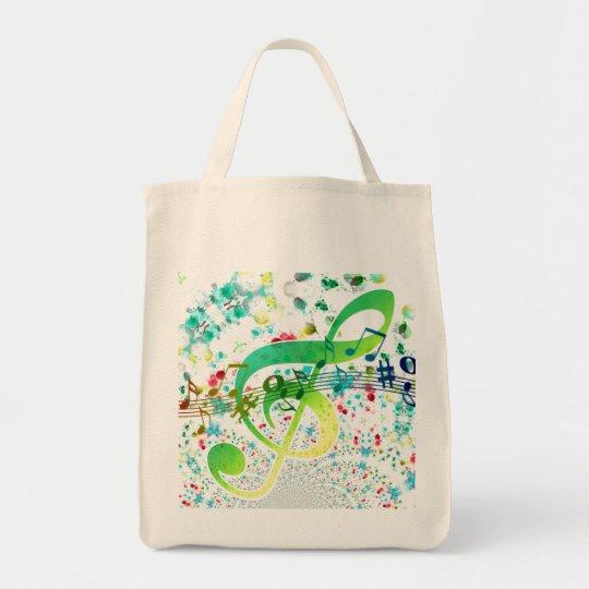 Tote Bag Portée musicale