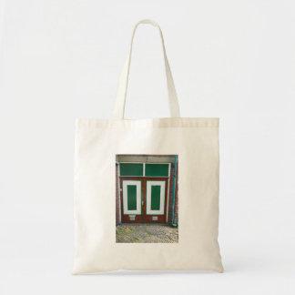 Tote Bag Portes vertes de la photographie deux néerlandais