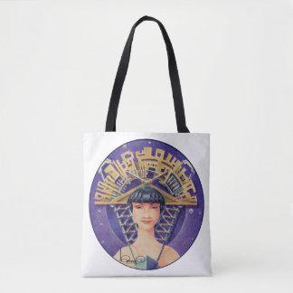 Tote Bag PORTRAIT AVEC le MORCEAU D'OR (sac fourre-tout)