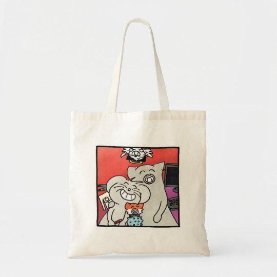 """Tote Bag """"Portrait de famille Ragnagna"""""""