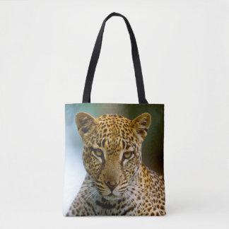 Tote Bag Portrait de léopard