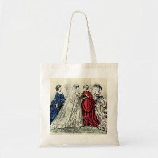 Tote Bag Portrait nuptiale de noce victorienne vintage