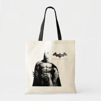 Tote Bag Pose large noire et blanche de la ville | Batman